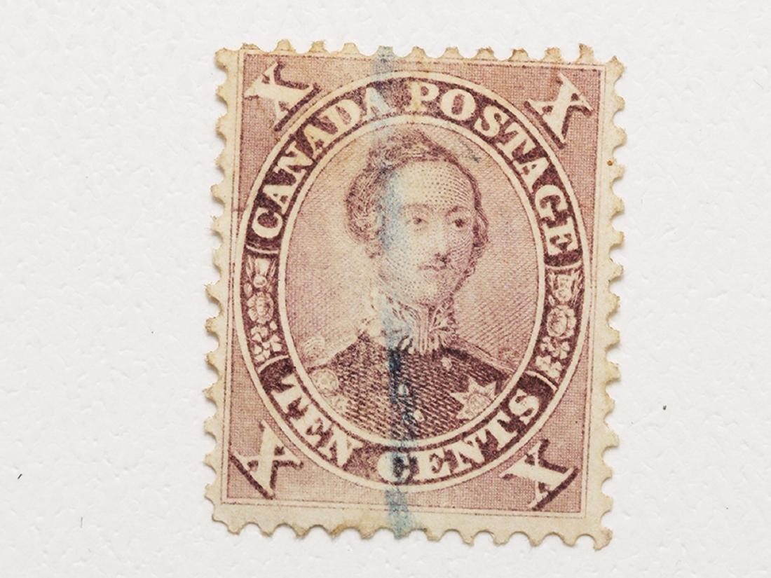 Canada- 1859-1864 10c Mint NG