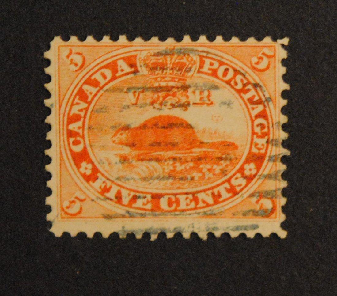 Canada 1859-64 5c S/C #15