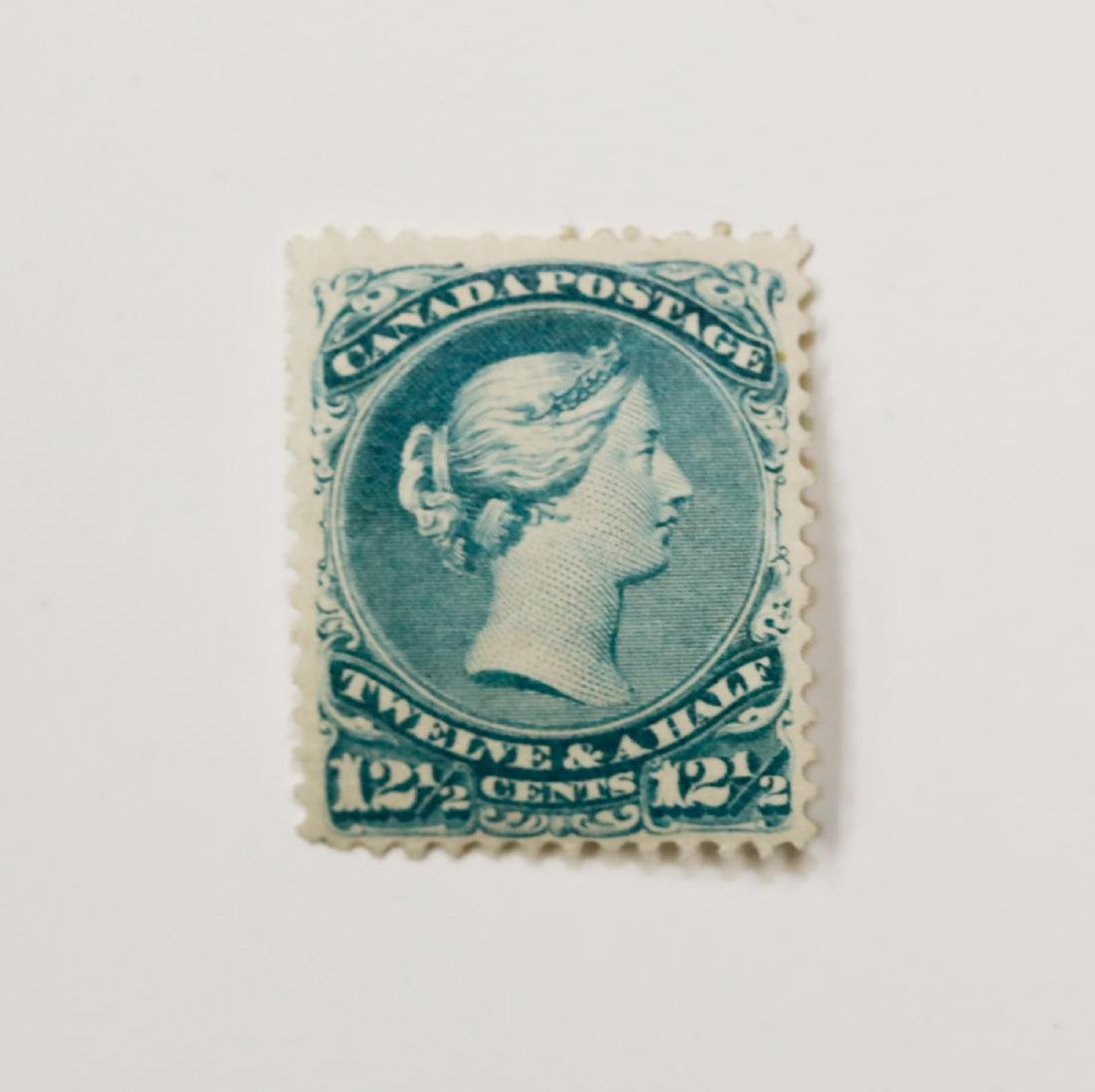 Canada 1868 12 1/2c S/C #28 F/VF