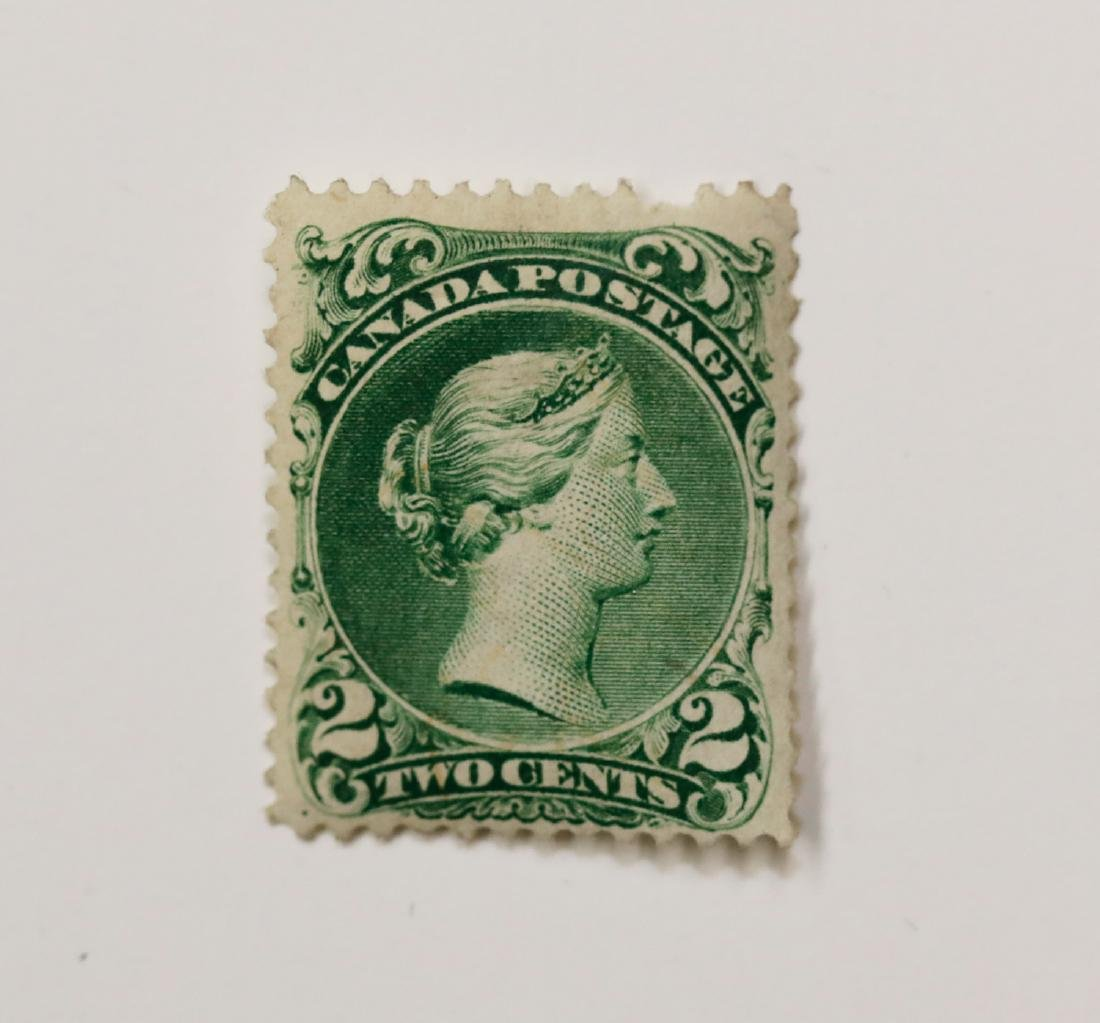 "Canada 1868 2c ""Large Queen"" S/C #24 M OG F"