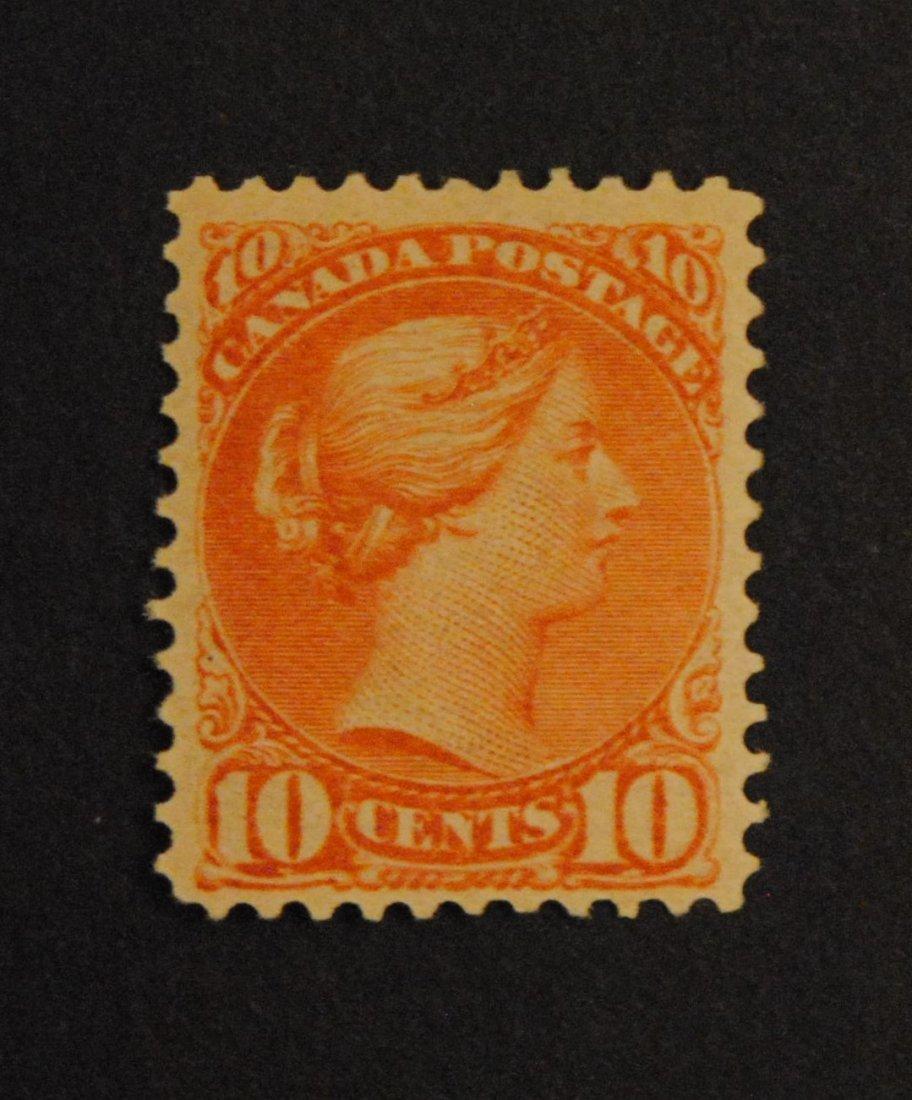 Canada 1877 10c Dull Rose Lilac S/C #40 F/VF MNH