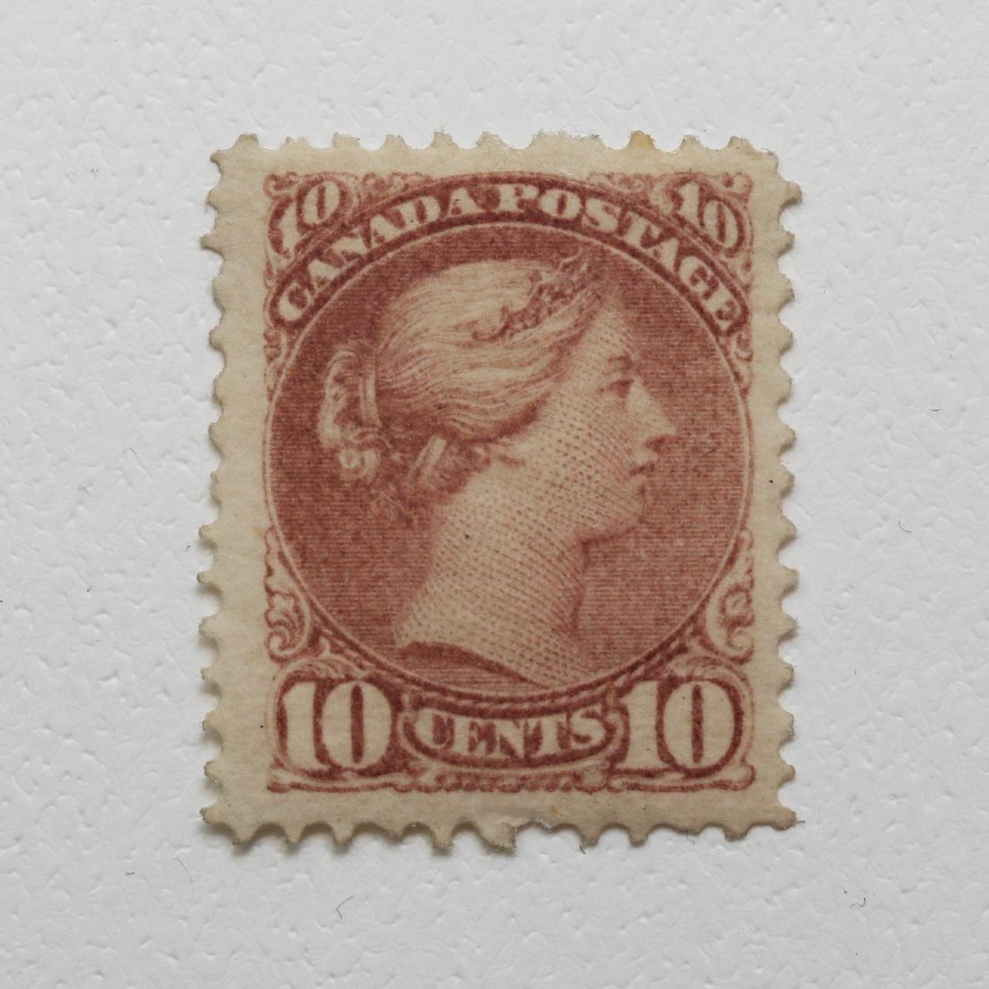 Canada 1877 10c S/C #40 M FH