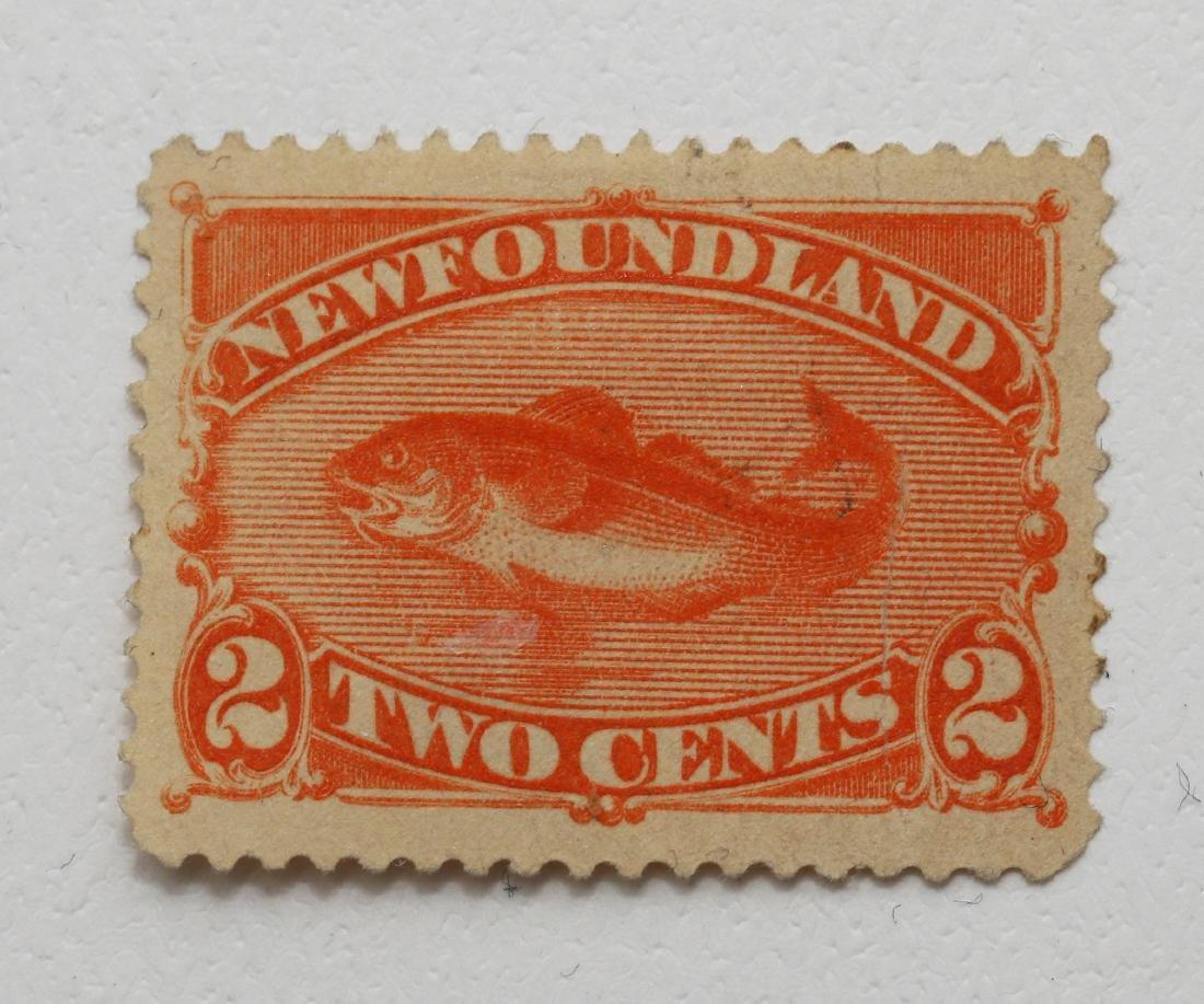 Canada 1887 2c S/C #48 VF M NG