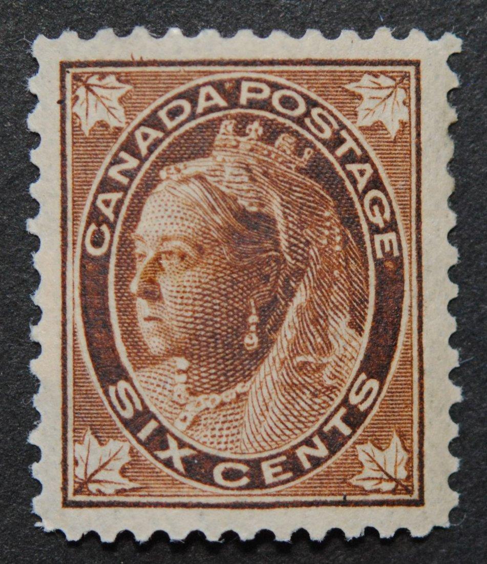 Canada 1897 6c S/C #71 XF LH