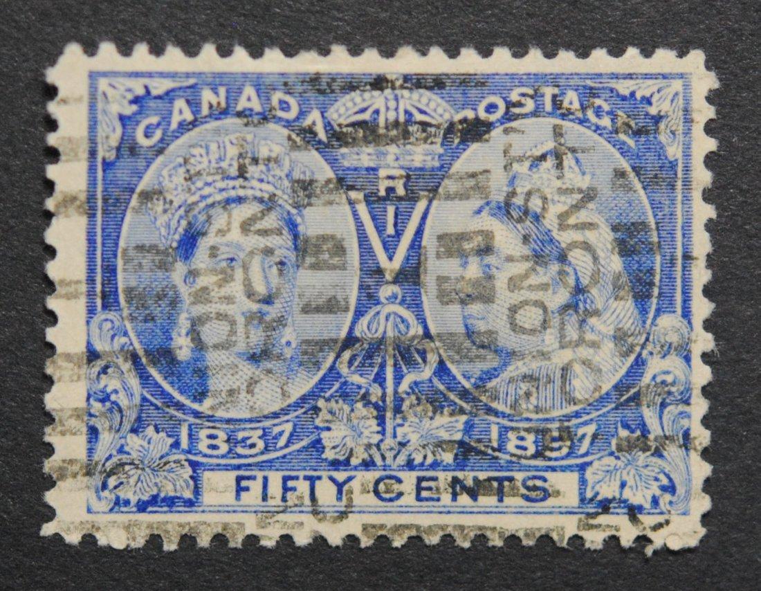 Canada 1897 Jubilee 50c S/C #60