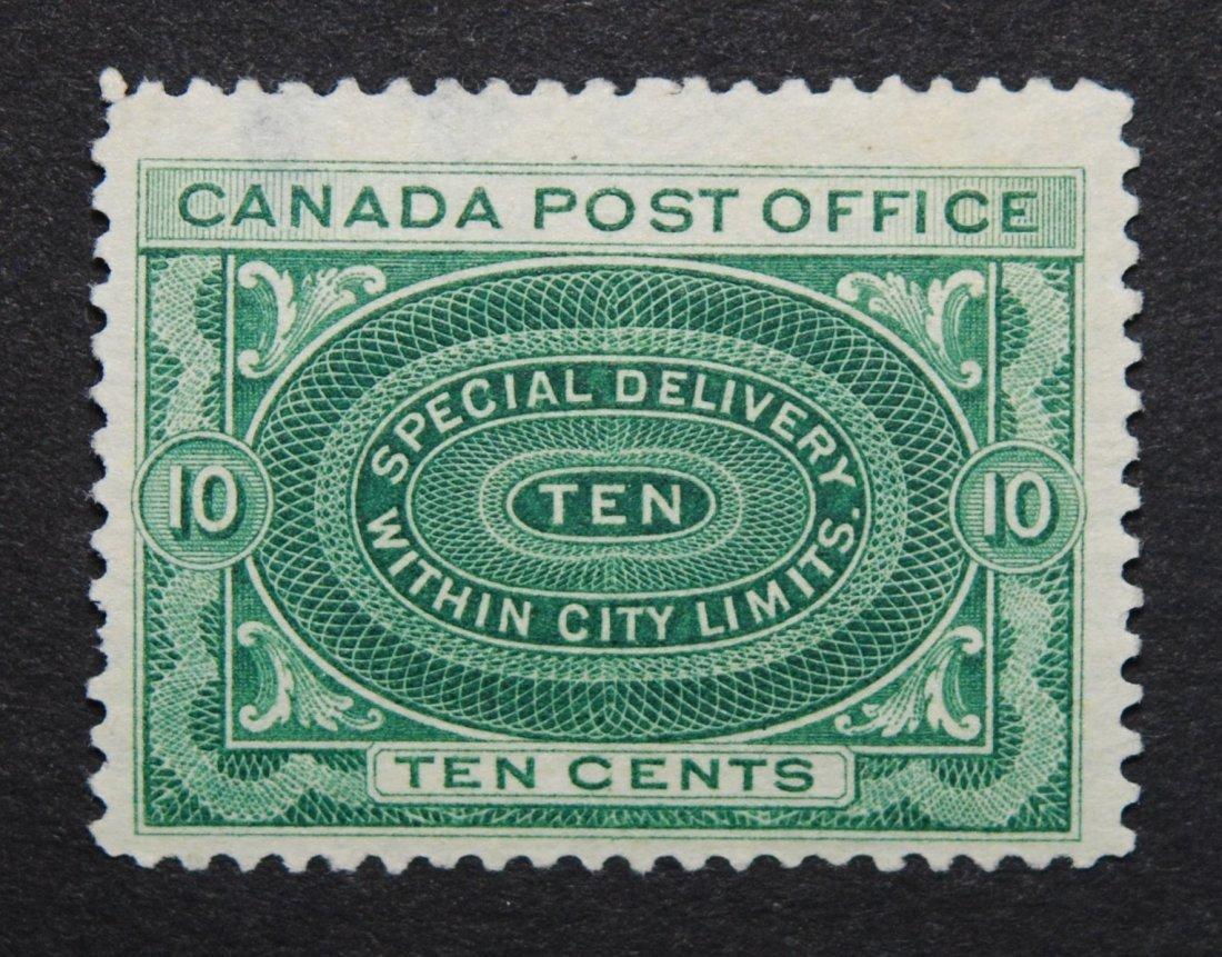 Canada 1898 10c S/C #E1 VF M NG