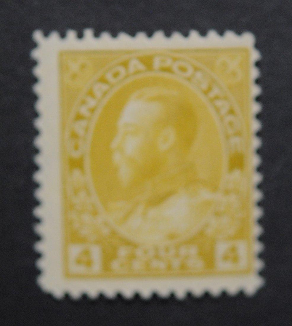 Canada 1911 4c S/C #110 MNH F/VF
