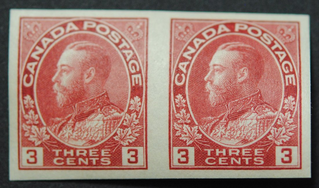 Canada 1924 3c Pair S/C #138 VF MNH