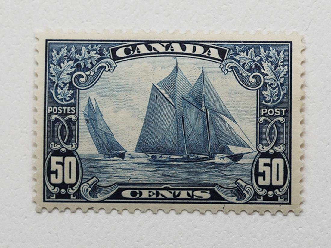 Canada 1929 50c S/C #158 MLH VF