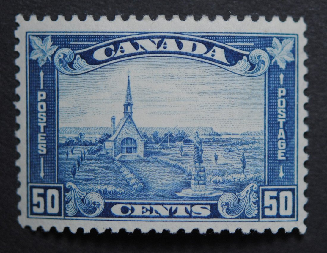 Canada 1930 50c S/C #176 VF OG H