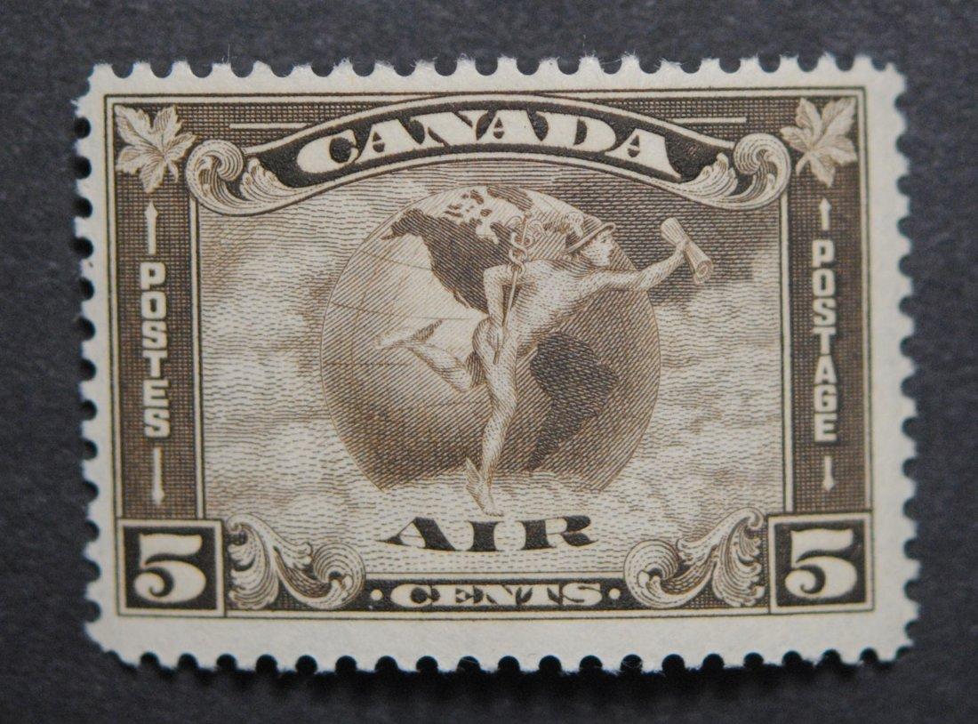 Canada 1930 5c S/C #C-2 VF MNH