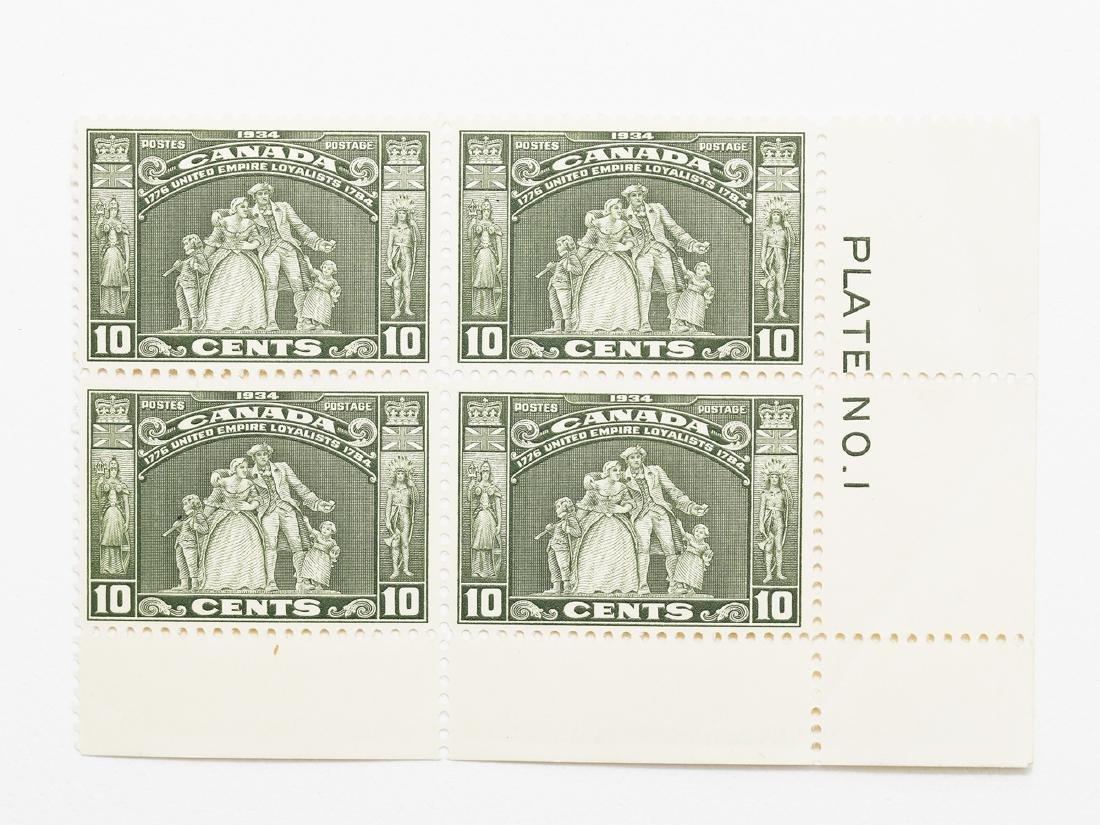 Canada- 1934 10c Block of 4 S/C #209 MNH