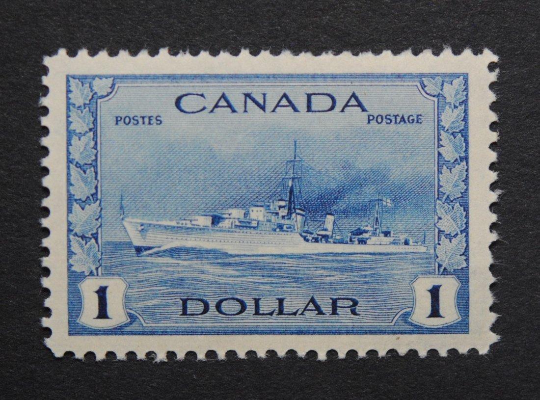 Canada 1942 $1 S/C #262 VF MNH