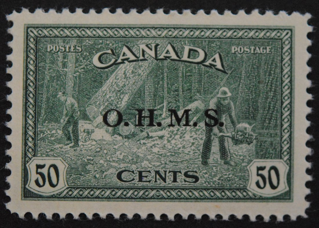 Canada 1949 50c Peace Issue S/C #09 MNH VF/XF