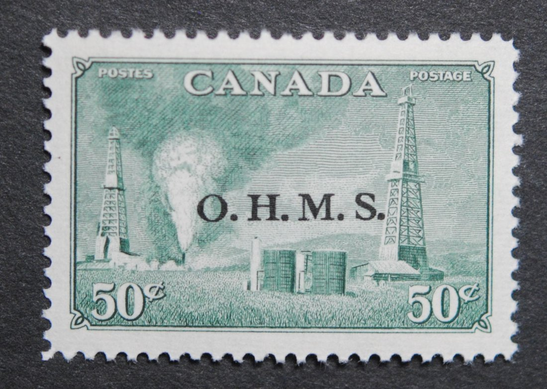 """Canada 1949 50c S/C #29 """"Peace Issue"""" XF MNH"""