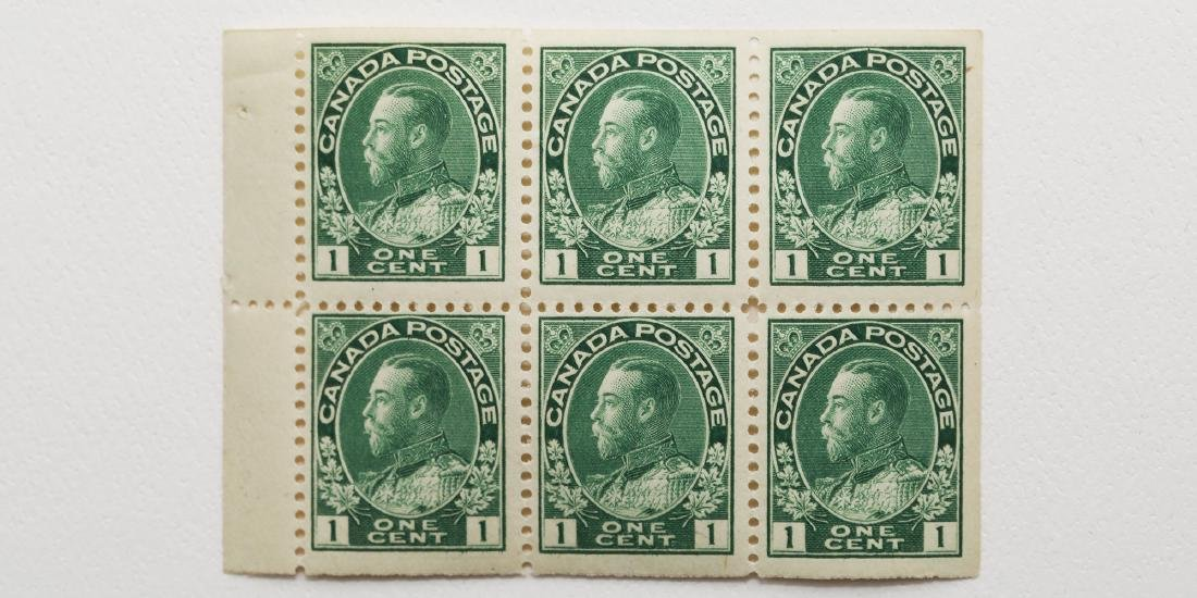 Canada 1c Block of 6 S/C #104A MNH VF