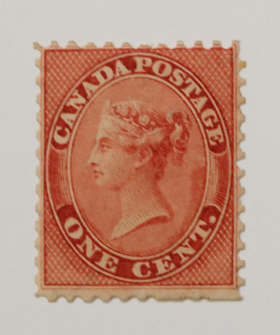 Canada 1c S/C #14 MLH VF OG