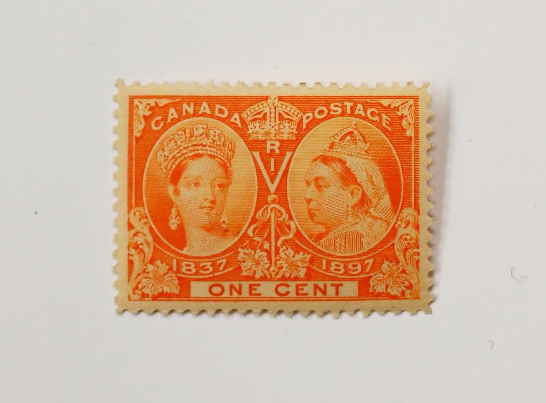 Canada 1c Jubilee S/C #51 MNH VF