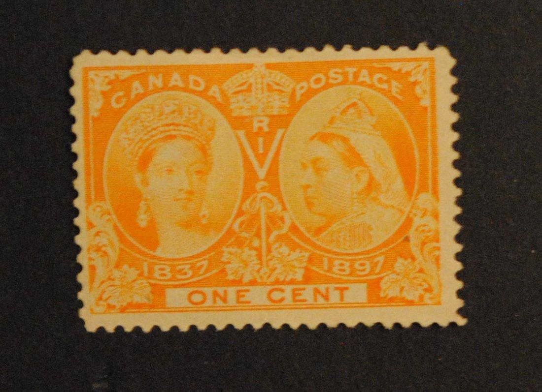Canada 1c S/C #51 Orange M NG