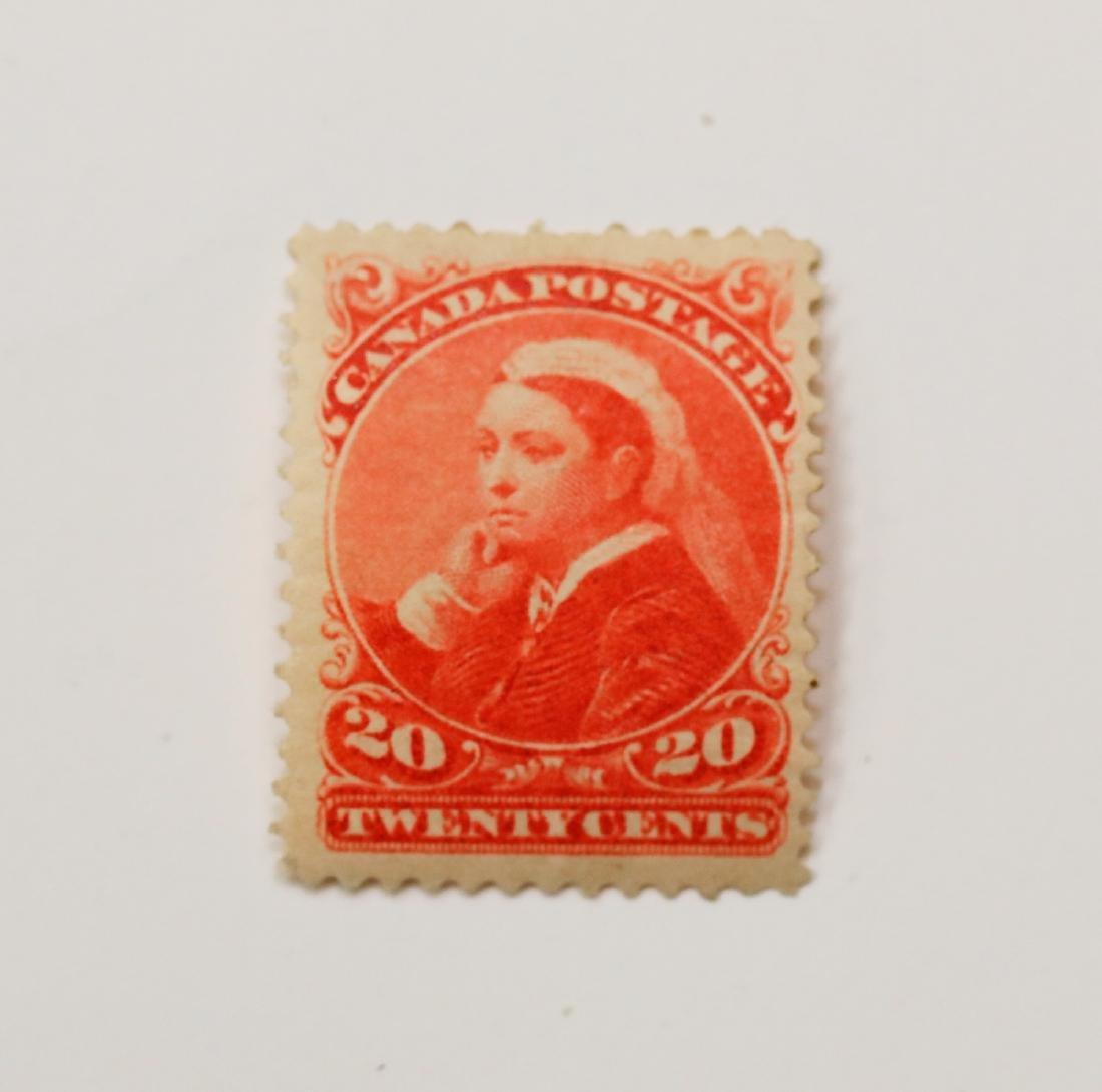 Canada 20c S/C #46 VF/F MNH