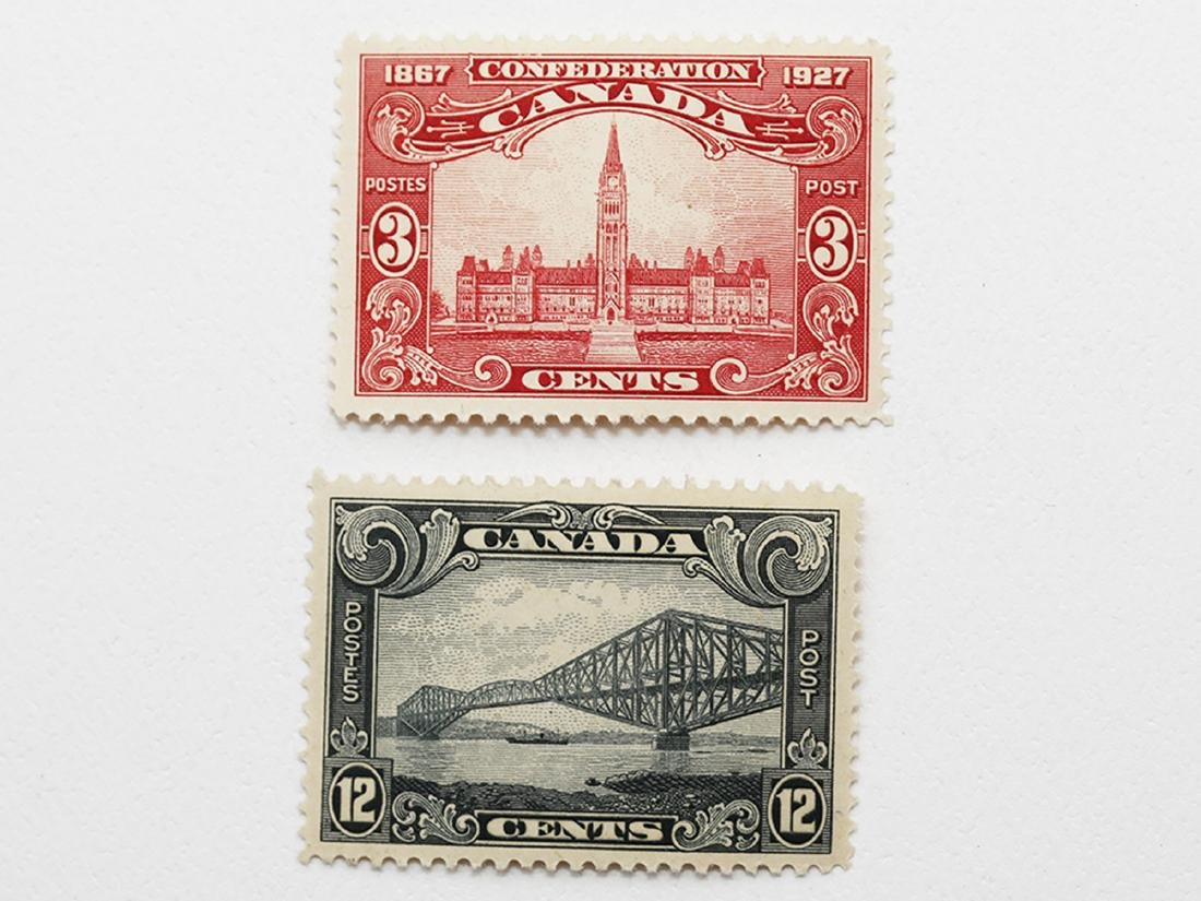 Canada 3c #143 and 12c #156 VF MNH