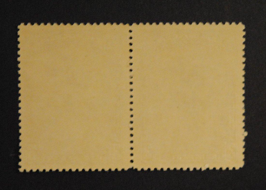 Canada 3c Pair Gutter Strip S/C #208 VF MNH - 2
