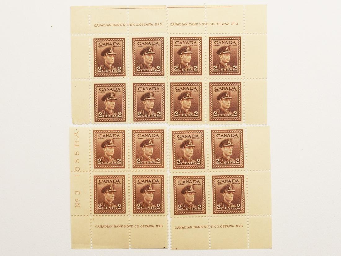 Canada 4 Plate Blocks of 4 S/C #250 MNH VF