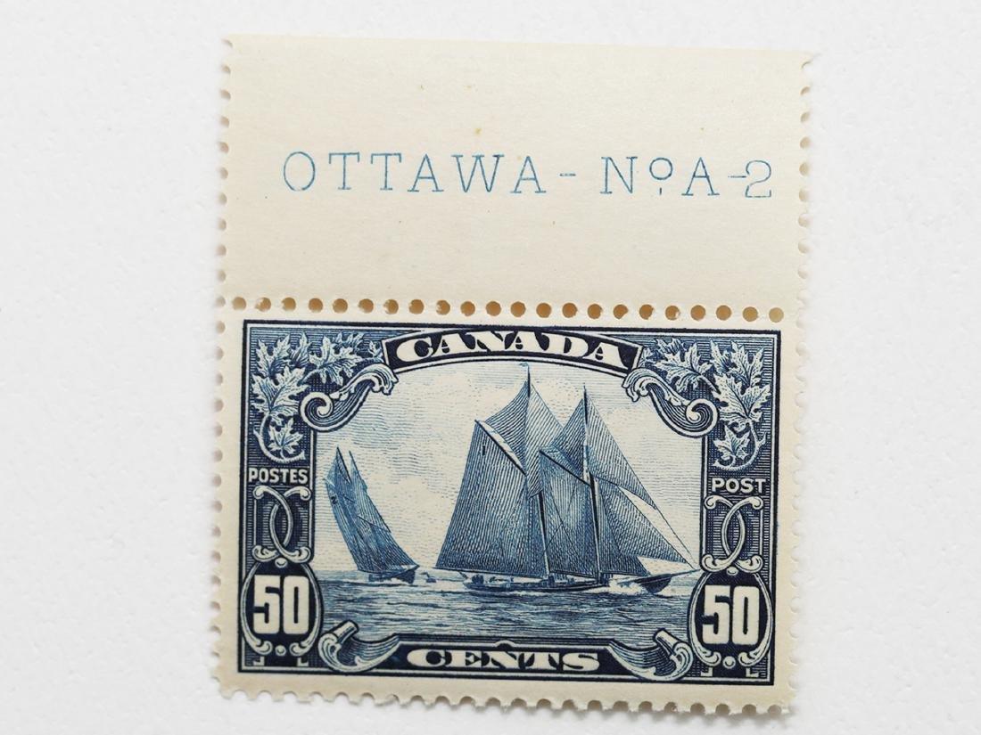 Canada- 50c S/C #158 Bluenose VF+ MNH