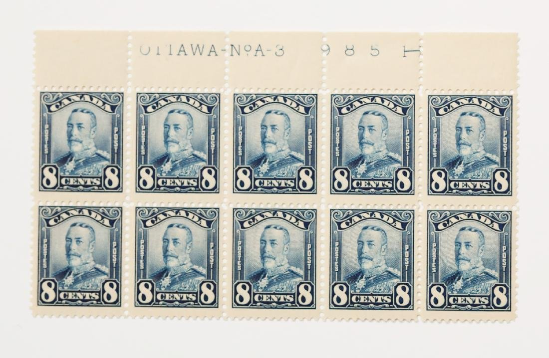 Canada 8c Block of 10 S/C #171 MNH VF