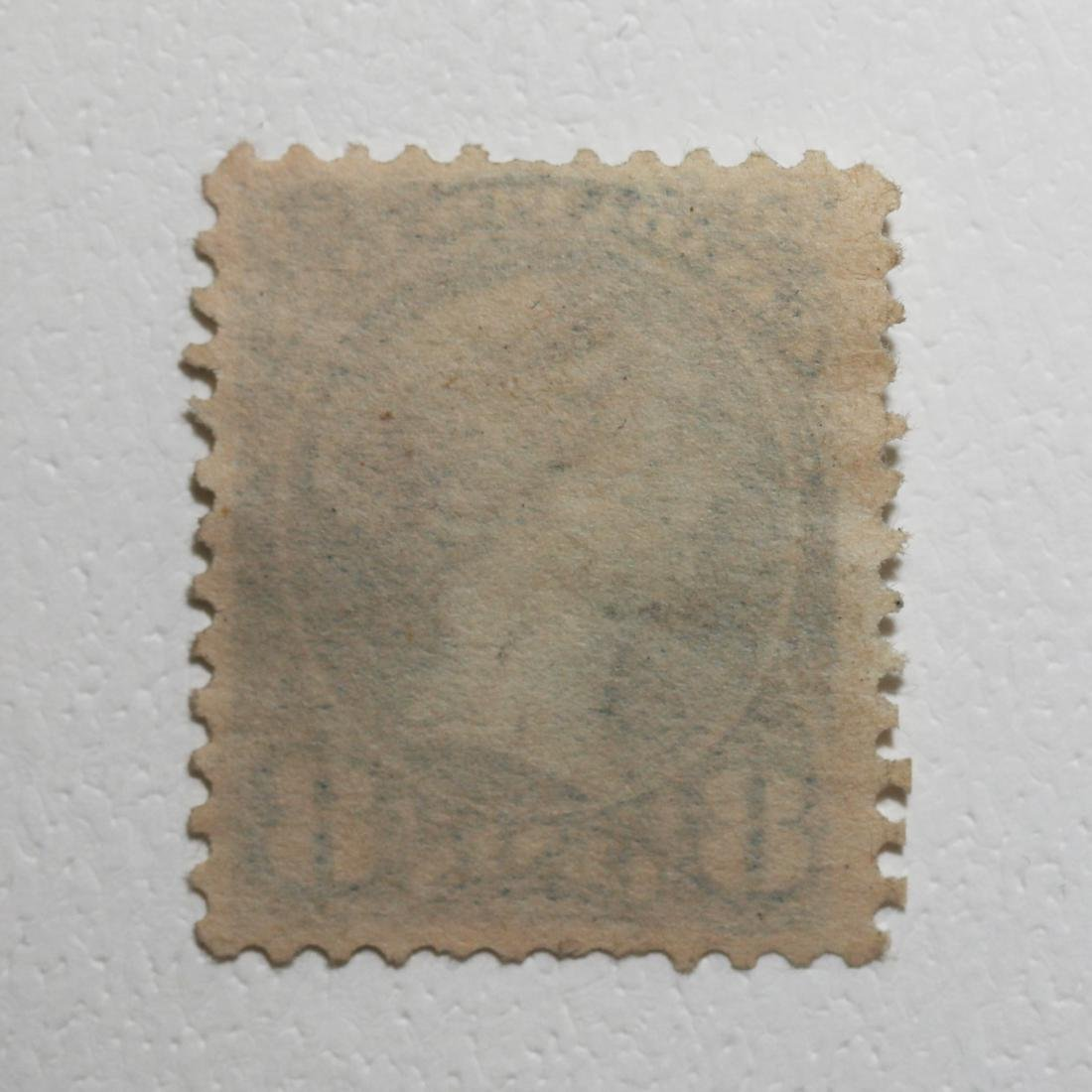 "Canada 8c ""Small Queen"" S/C #44a Blue MH F OG - 2"