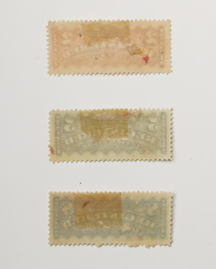 Canada Registration Stamps Collection - 2