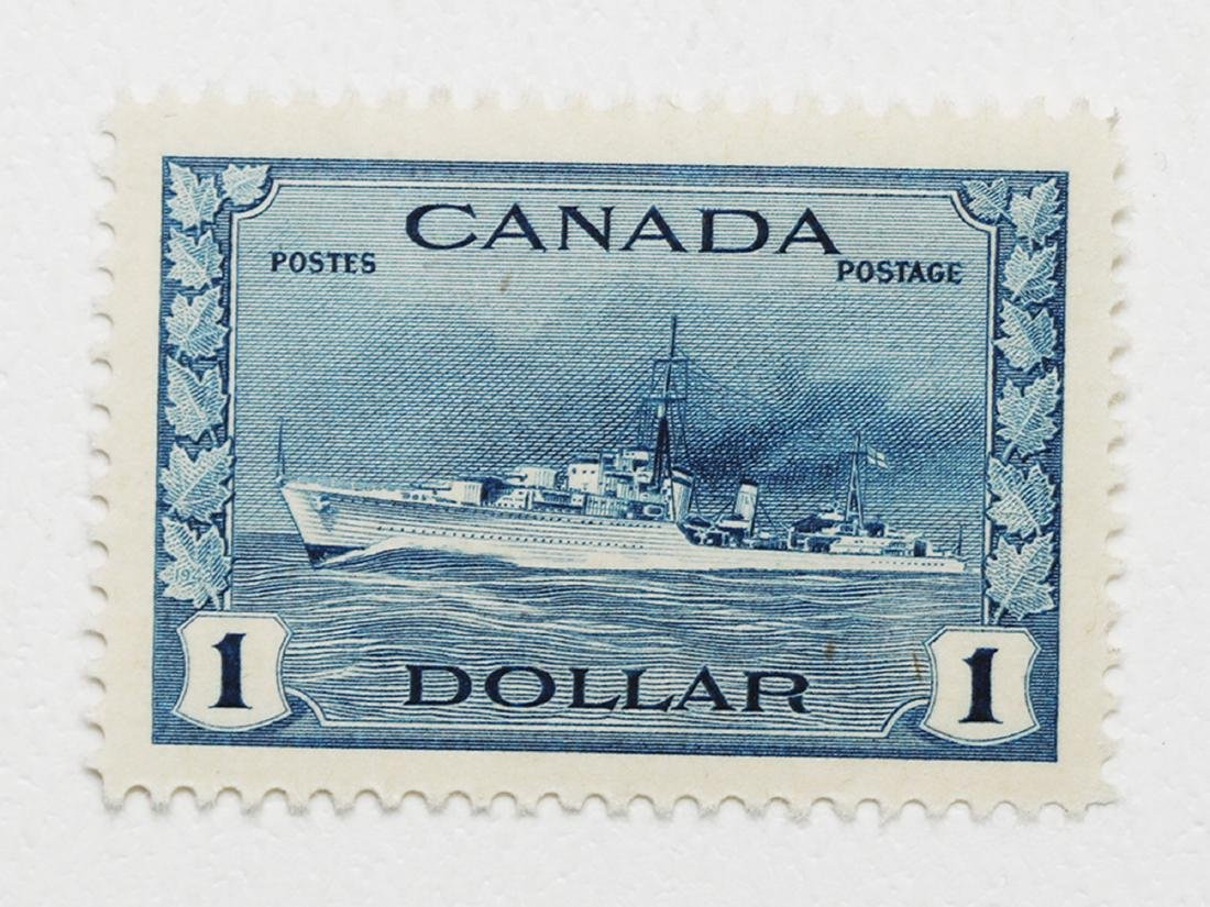 Canada- S/C $1 #262 Destroyer MNH XF