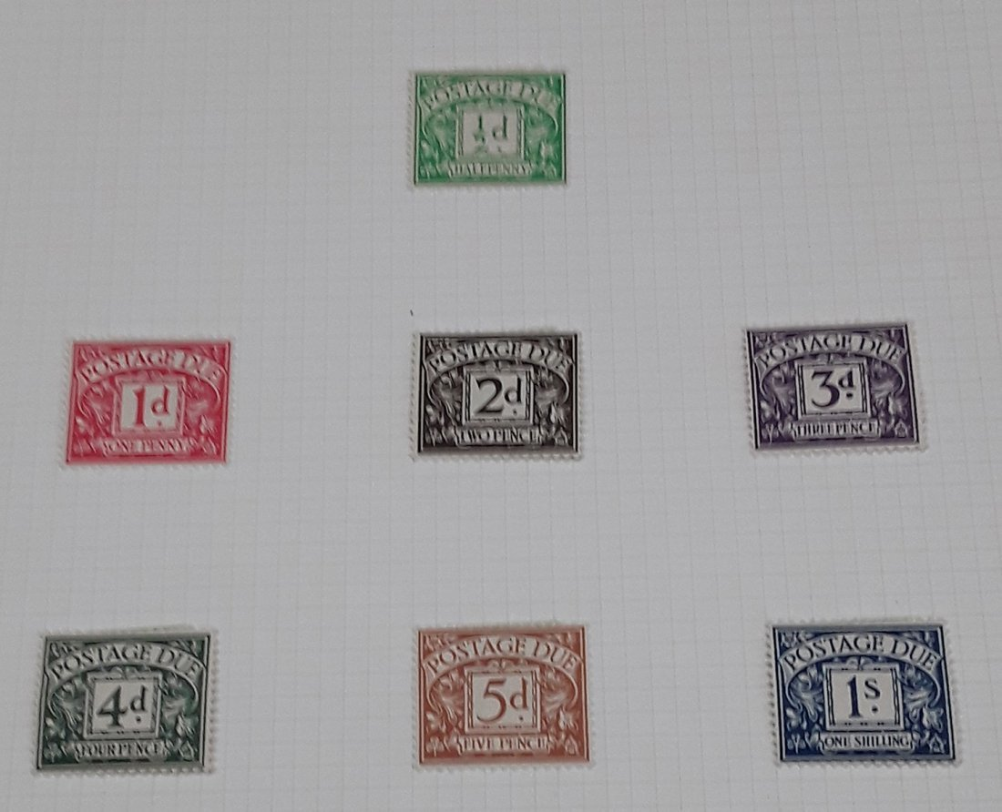 Great Britain Stamp Collection - 2