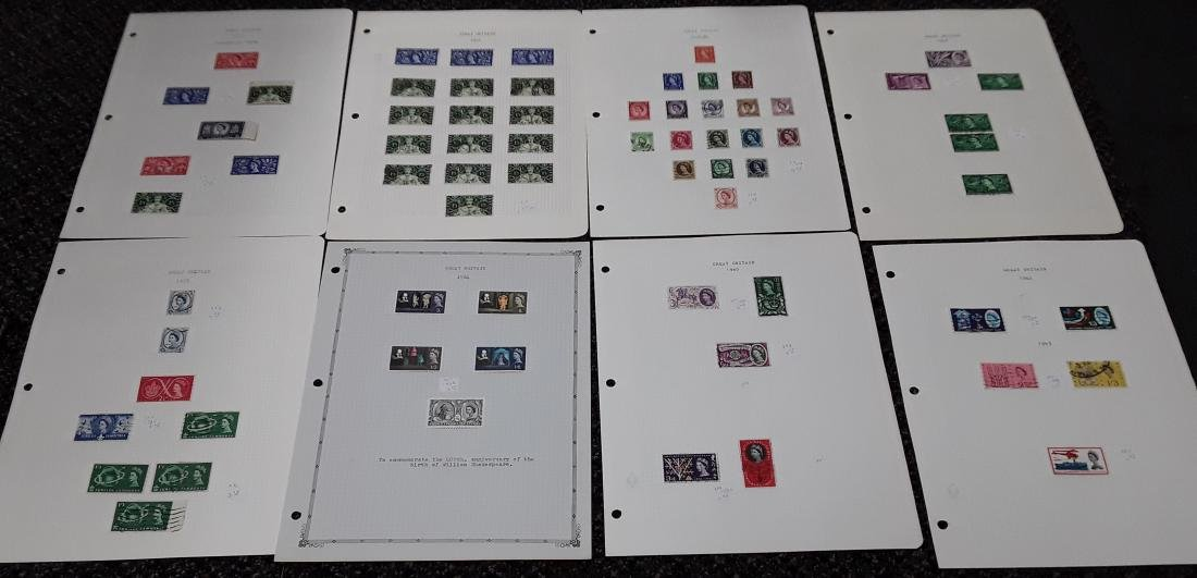 Great Britain Stamp Collection