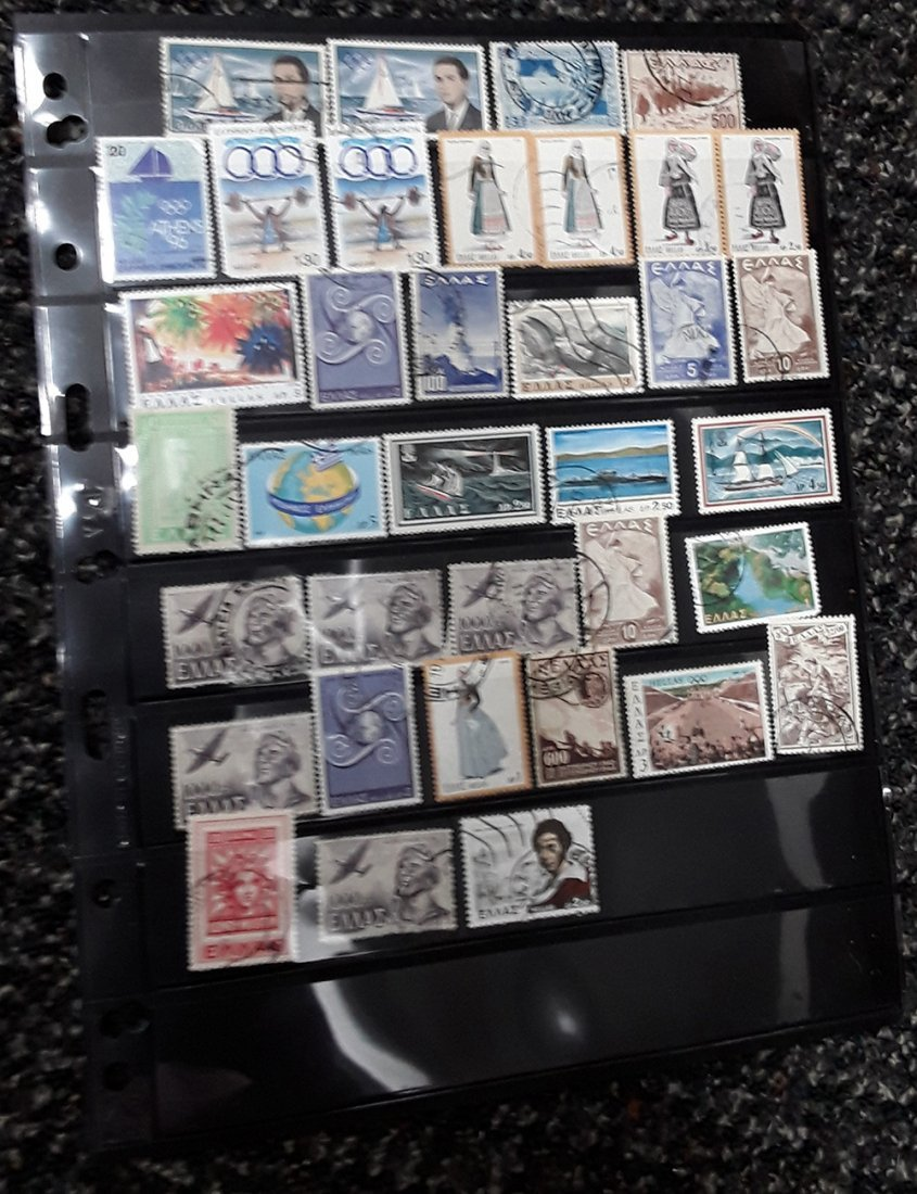 Greece Stamp Collection - 10