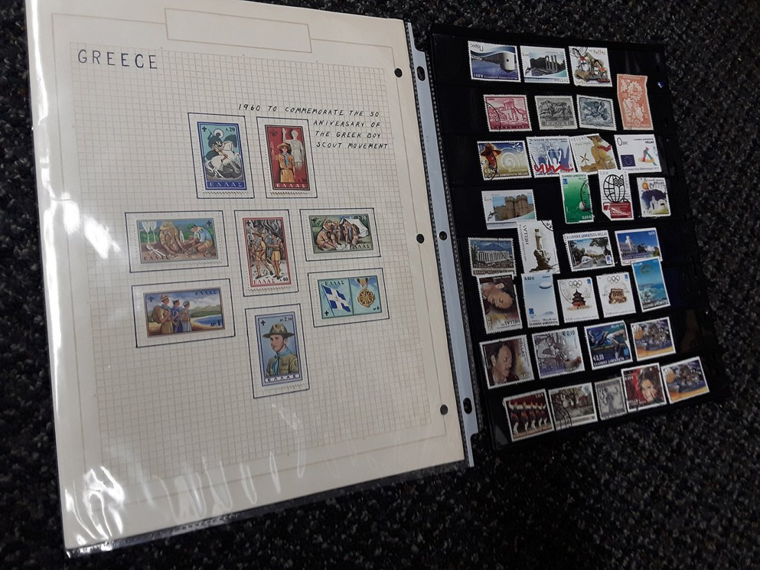 Greece Stamp Collection - 8