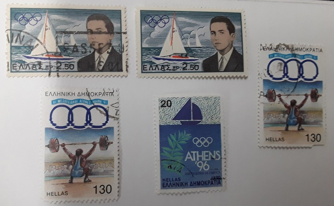 Greece Stamp Collection - 9