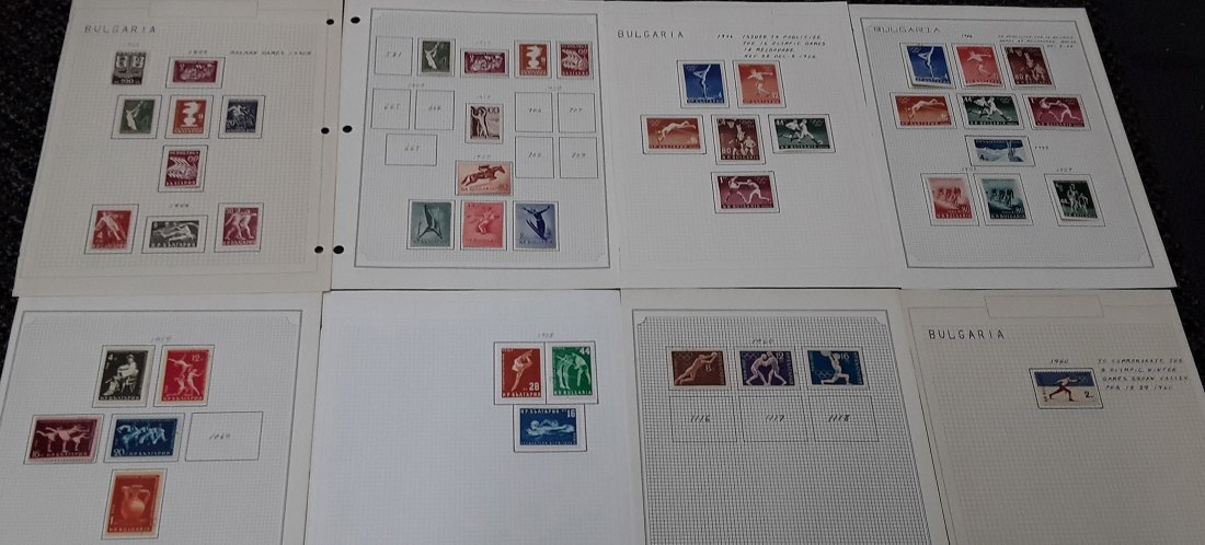Bulgaria Stamp Collection - 3
