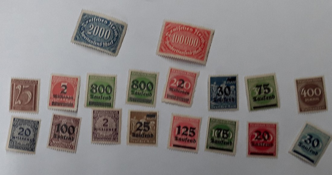 Spain Stamp Collection - 6