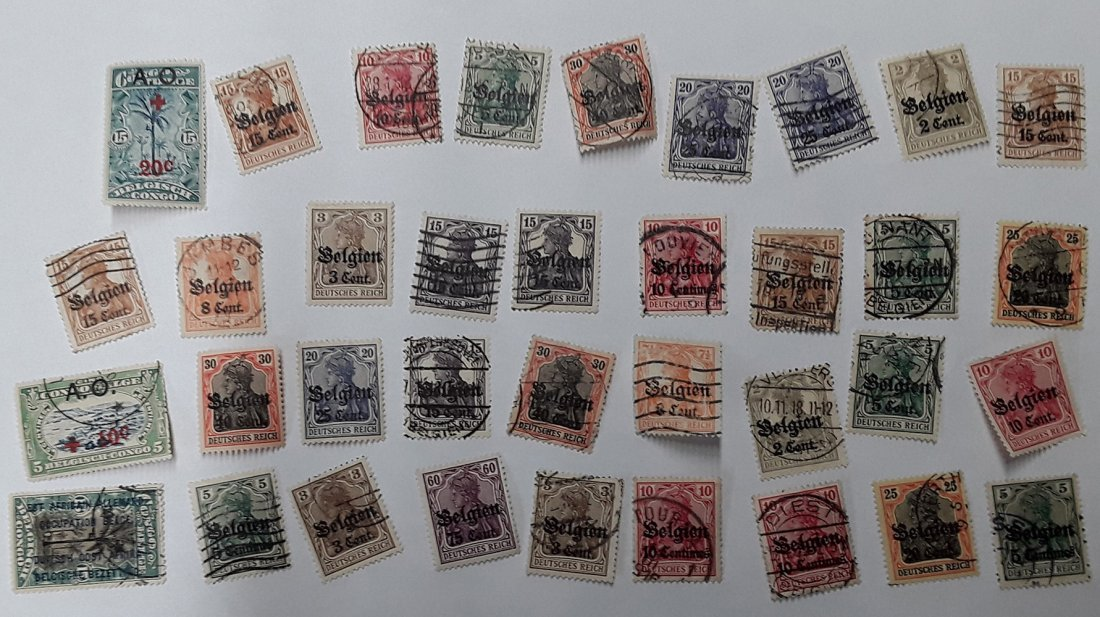 Spain Stamp Collection - 7