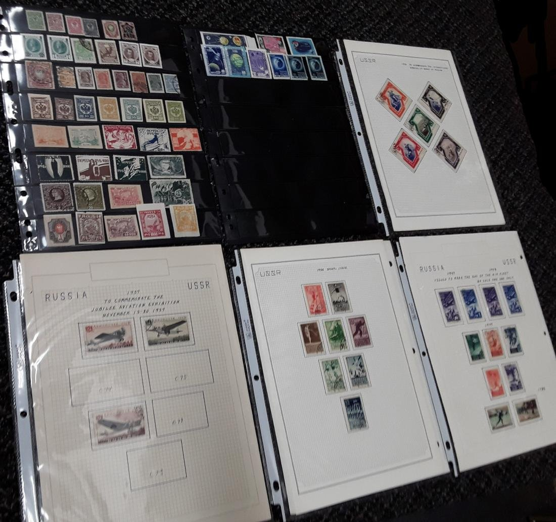 Russia Stamp Collection