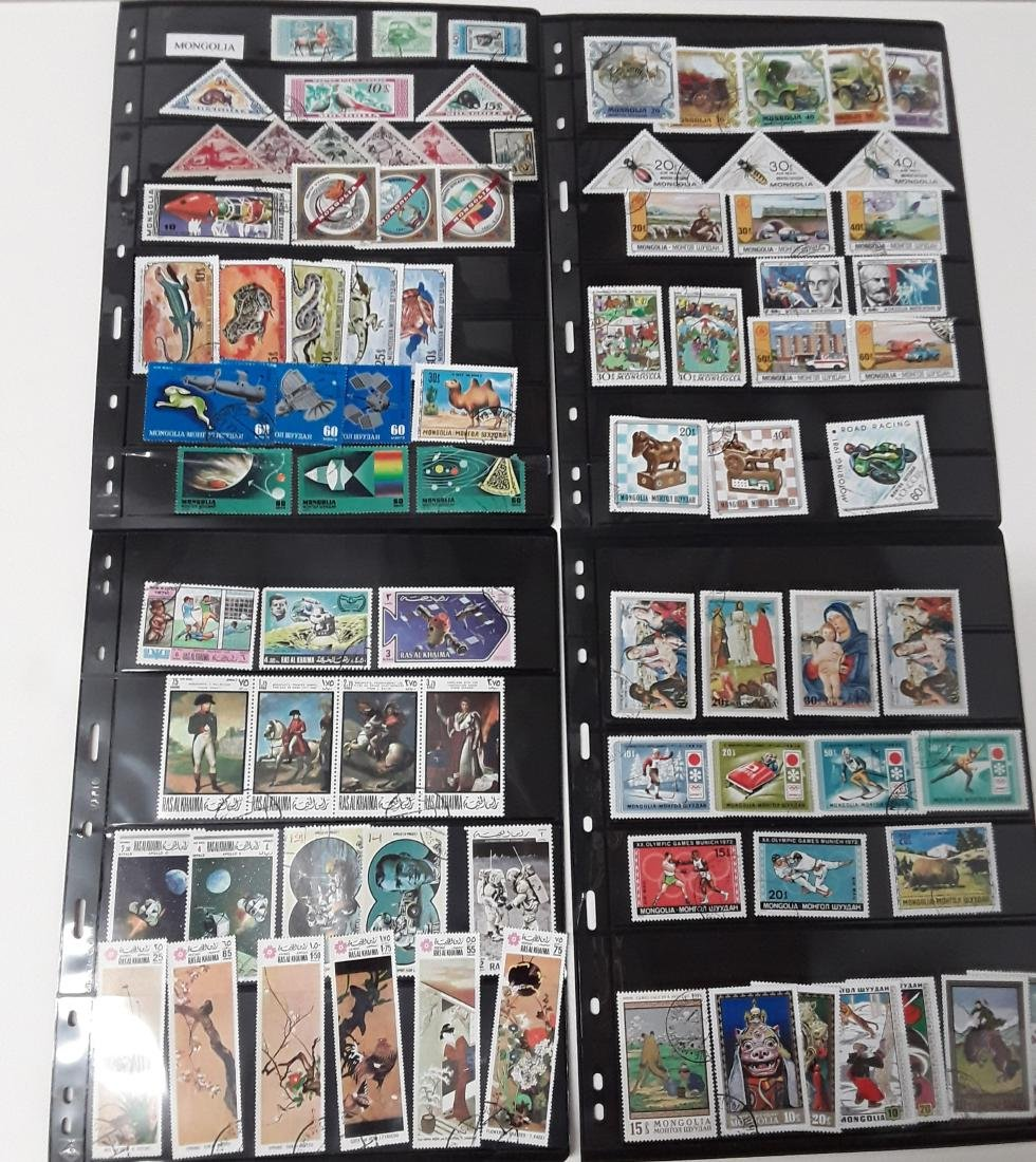 Asian Region Stamp Collection