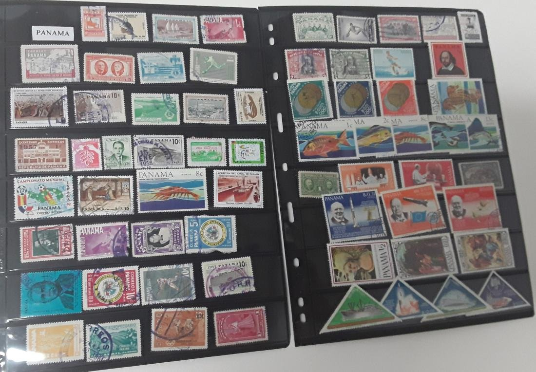 Continent of South America Stamp Collection