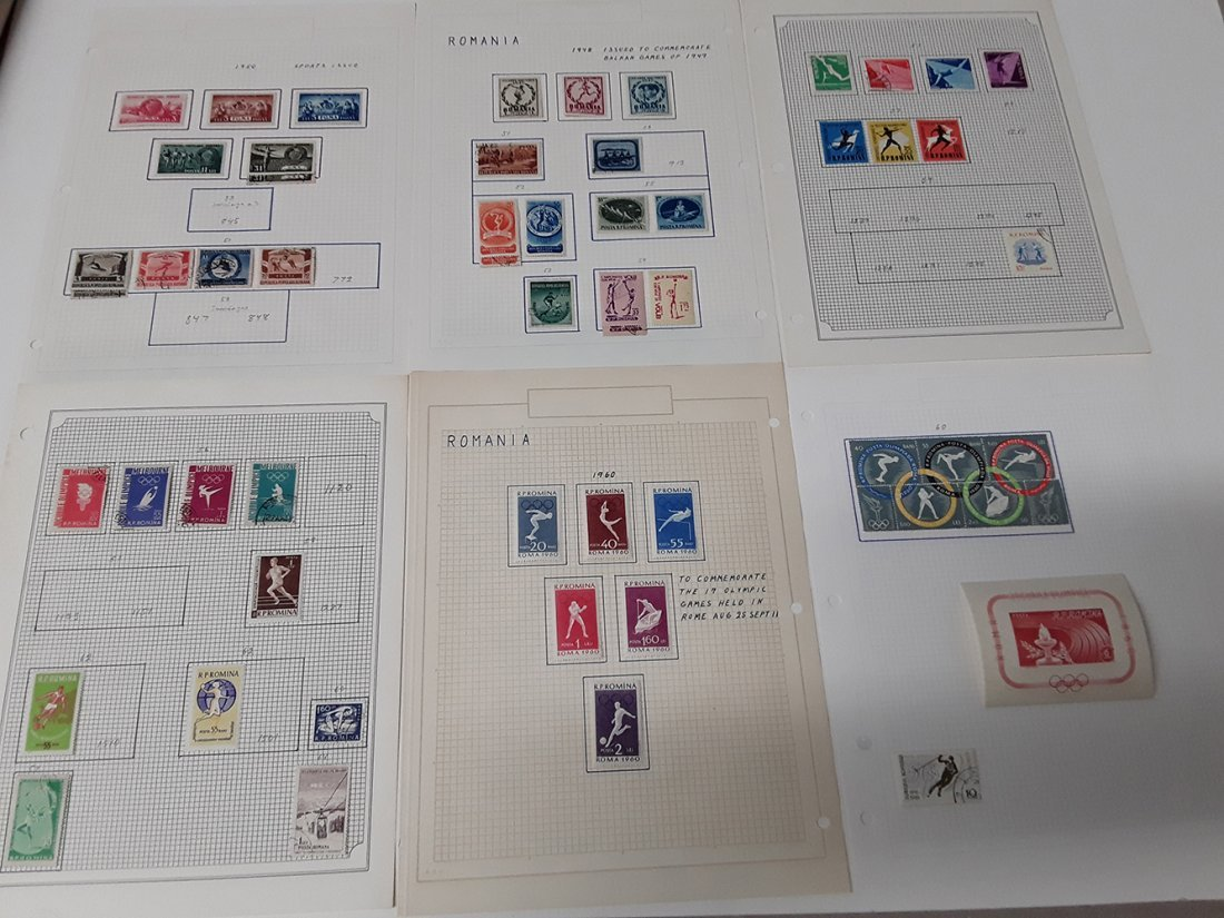 Europe Stamp Collection - 7
