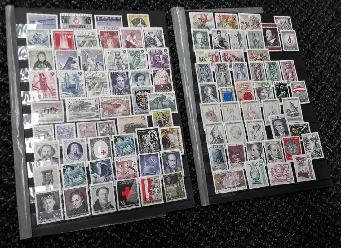 Austria Stamp Collection