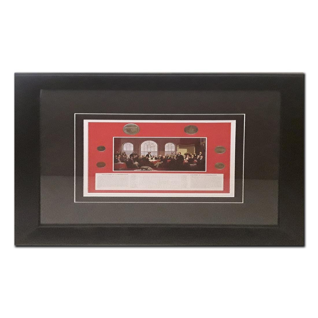 The Fathers of Confederation' print with a 1967