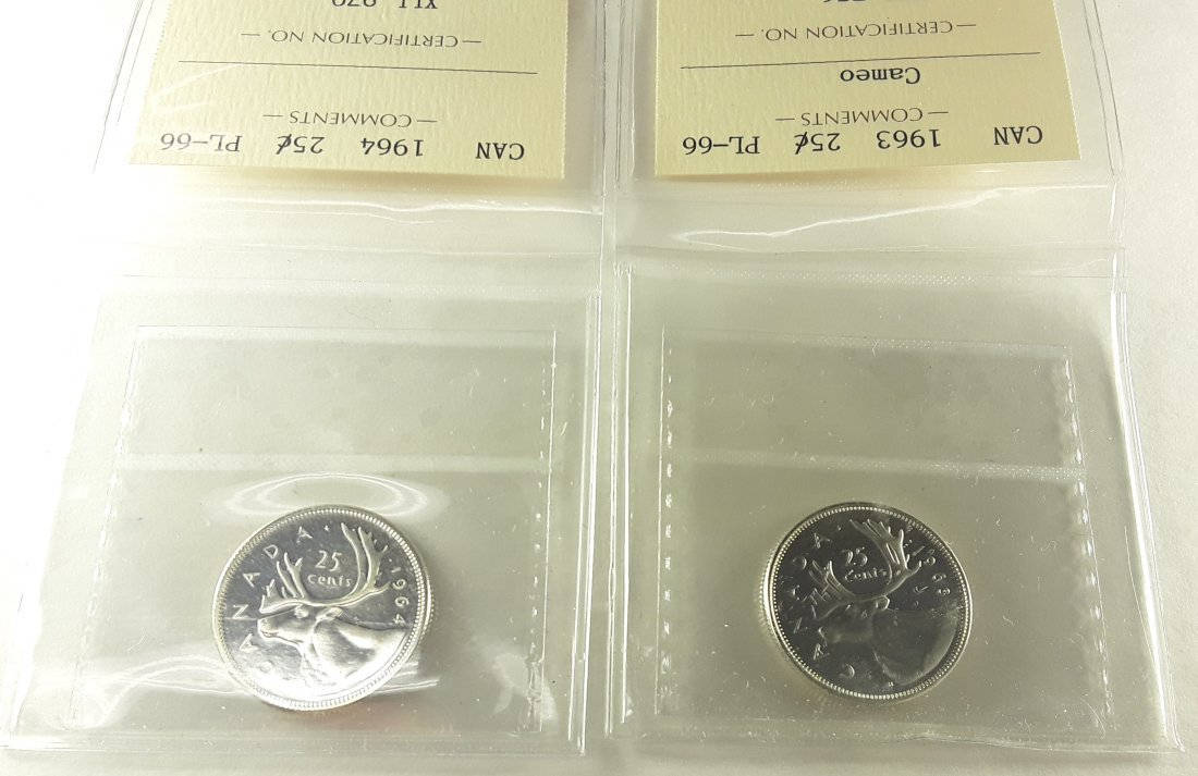 Canadian Prooflike 25 Cent Collection - 4