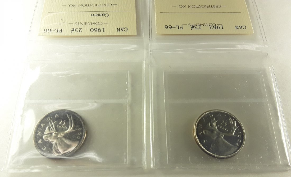 Canadian Prooflike 25 Cent Collection - 6