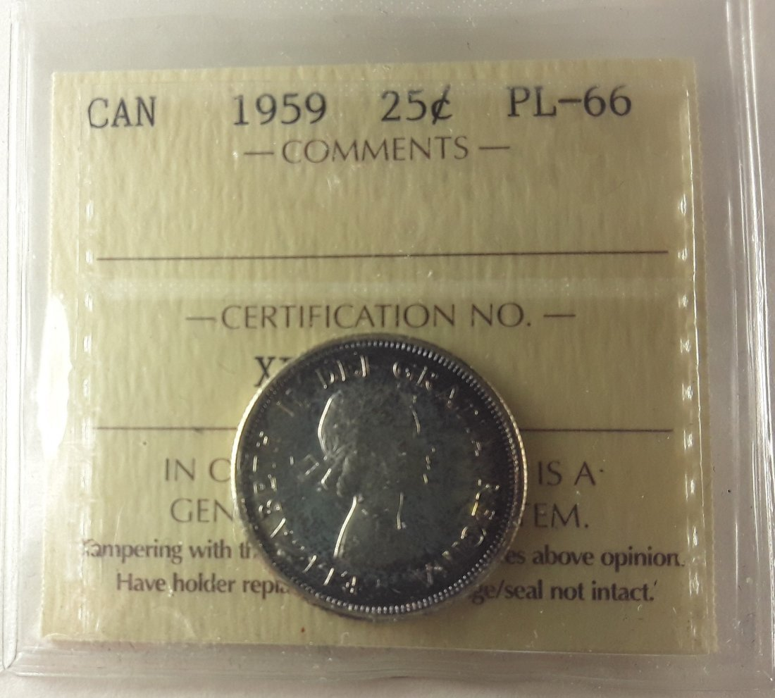 Canadian Prooflike 25 Cent Collection - 7