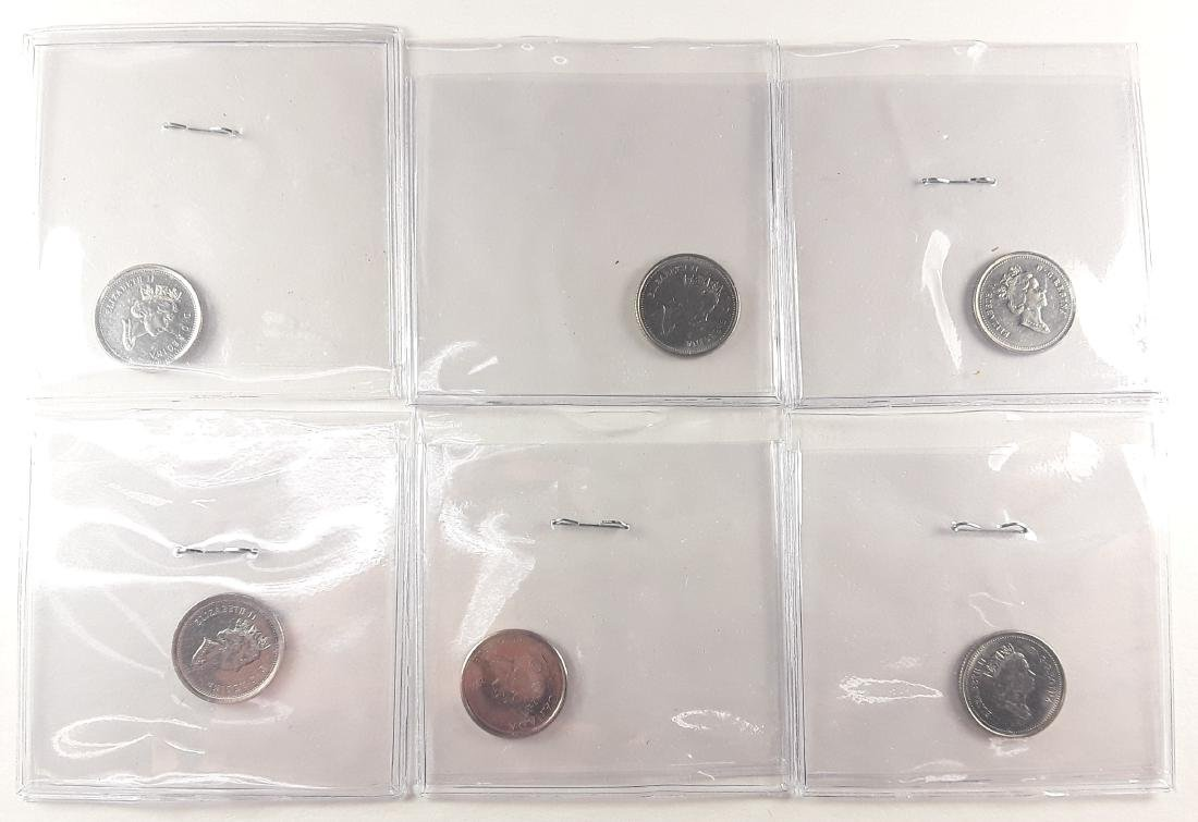 Canadian 1 Cent Coin Collection